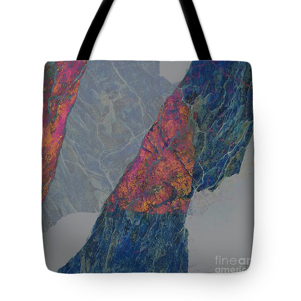 Fracture XXX Tote Bag by Paul Davenport