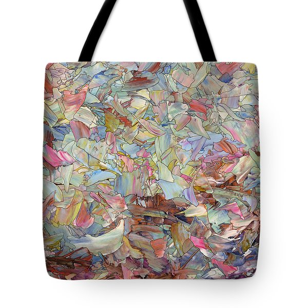Fragmented Hill Tote Bag by James W Johnson