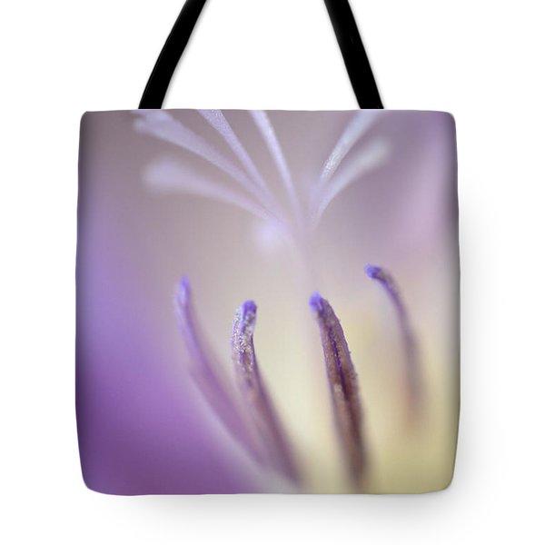 Fragrant Freesia  Tote Bag by Deb Halloran