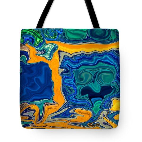 Framed Tote Bag by Omaste Witkowski