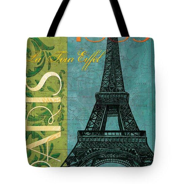 Francaise 1 Tote Bag by Debbie DeWitt