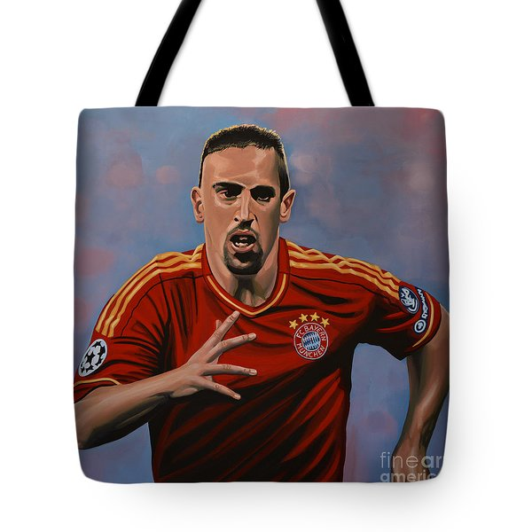 Franck Ribery Tote Bag by Paul Meijering