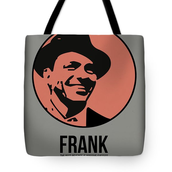 Frank Poster 1 Tote Bag by Naxart Studio