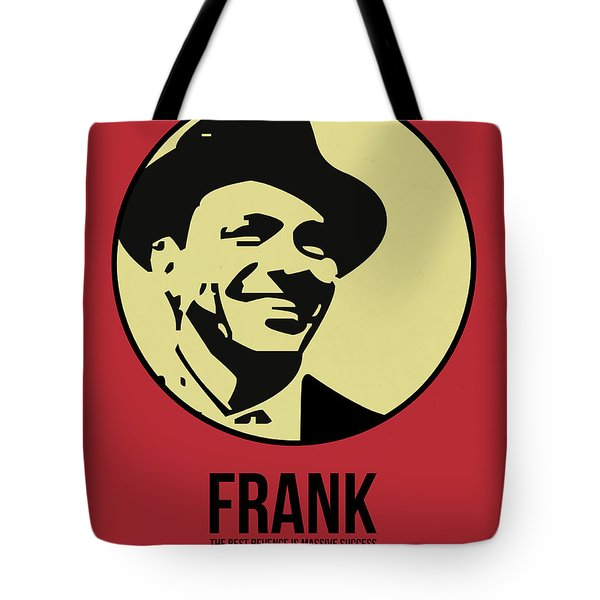 Frank Poster 2 Tote Bag by Naxart Studio