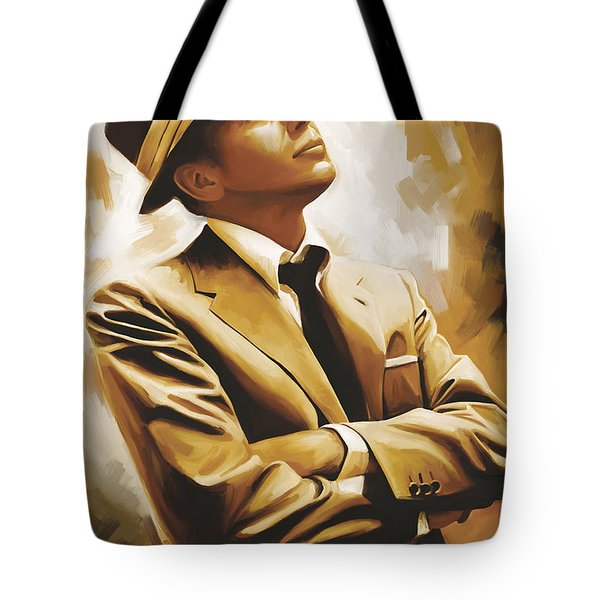 Frank Sinatra Artwork 1 Tote Bag by Sheraz A