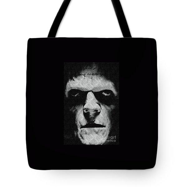 Frankenstein Tote Bag by Janette Boyd