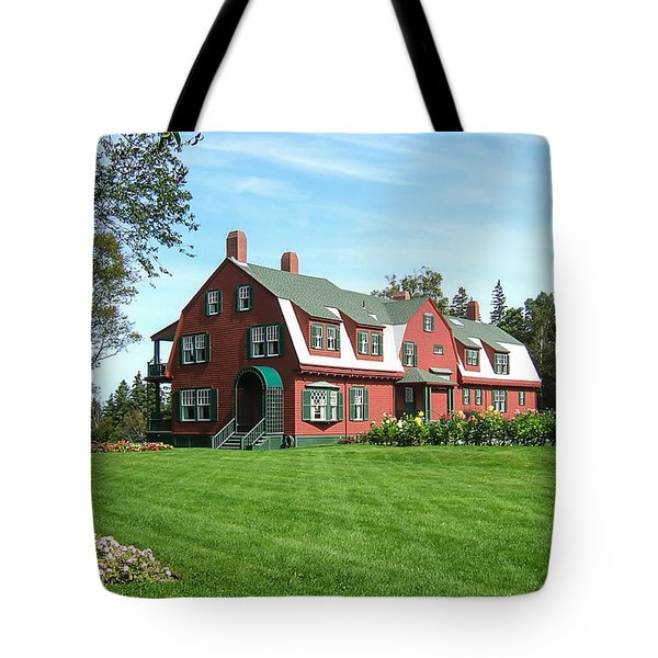 Franklin D. Roosevelts Beloved Island Campobello Tote Bag by Edward Fielding