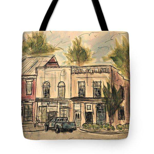 Franklin Facelift Tote Bag by Tim Ross