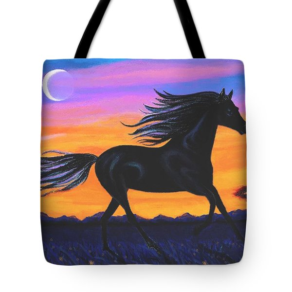 Free As The Wind Tote Bag by SophiaArt Gallery