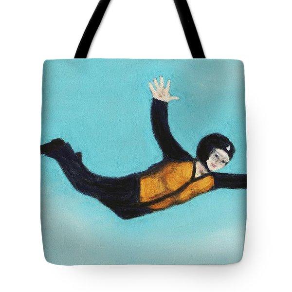 Free Fall Tote Bag by Anastasiya Malakhova