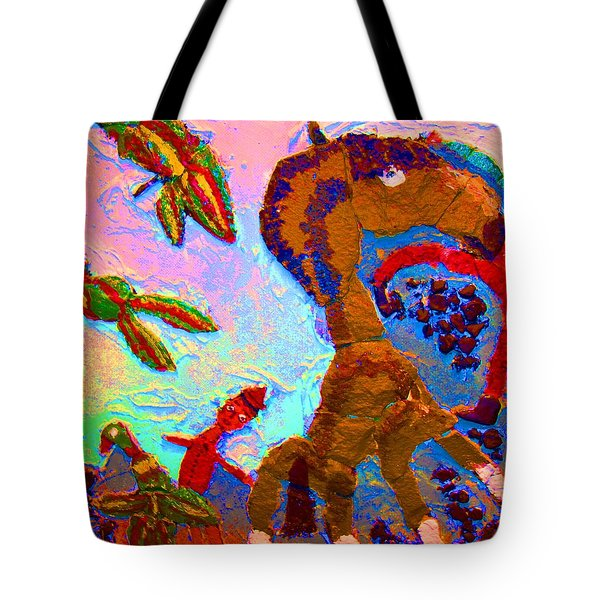 Free souls Tote Bag by Else Margrethe Widerberg