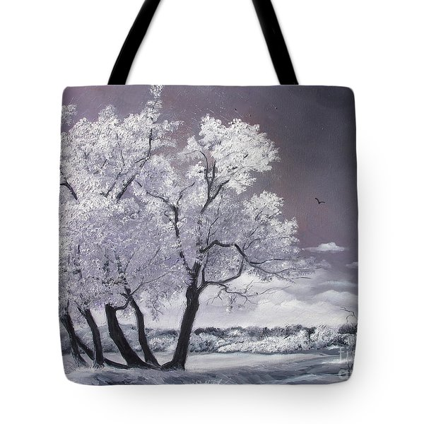 Freeze Tote Bag by Sorin Apostolescu