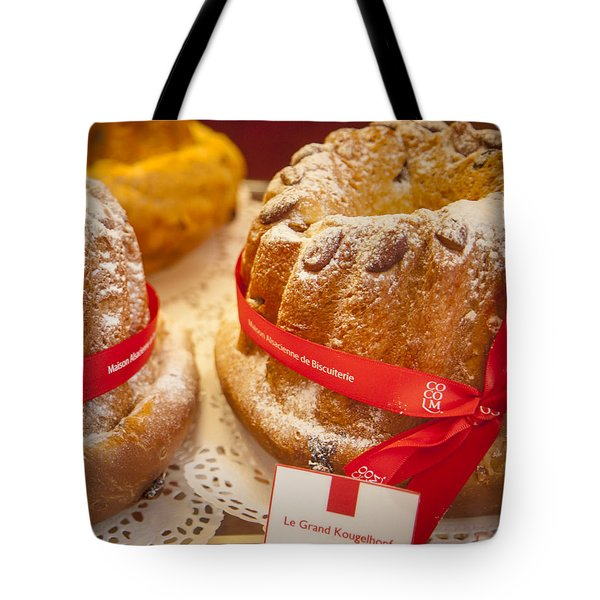 French - Alsace Pastry Tote Bag by Brian Jannsen