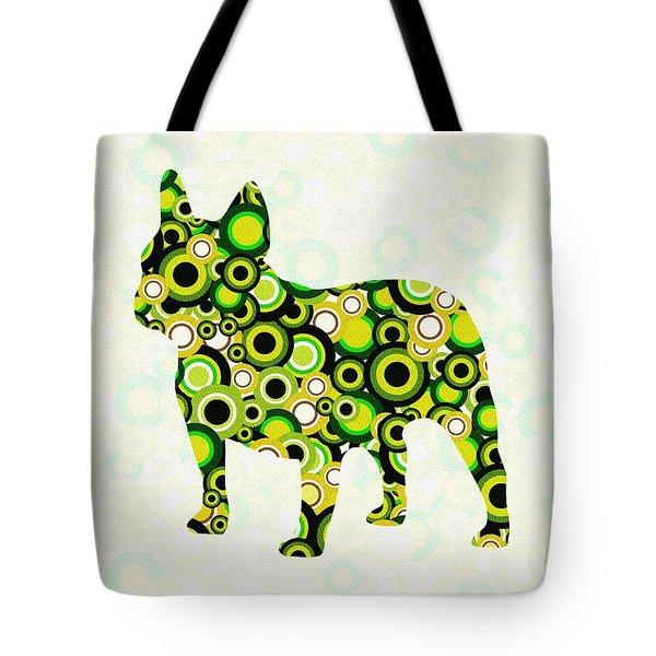 French Bulldog - Animal Art Tote Bag by Anastasiya Malakhova