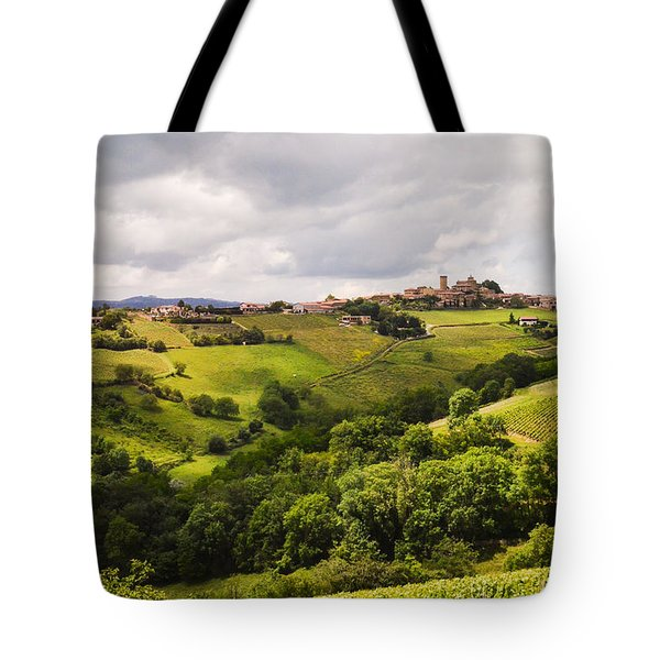 French Countryside Tote Bag by Allen Sheffield
