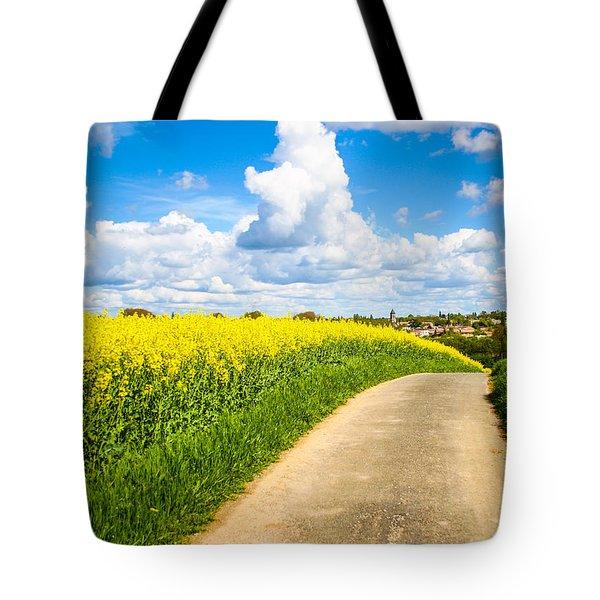 French Countryside Tote Bag by Nila Newsom