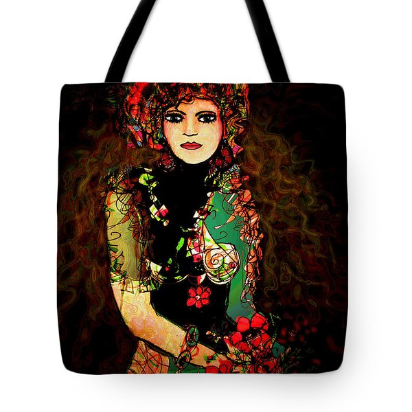 French Girl Tote Bag by Natalie Holland
