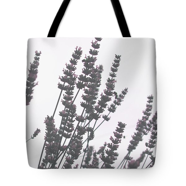 French Lavender Tote Bag by Nomad Art And  Design