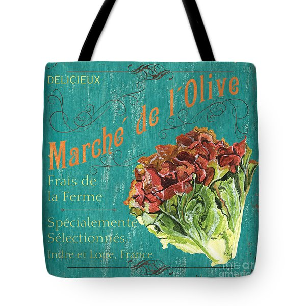 French Market Sign 3 Tote Bag by Debbie DeWitt