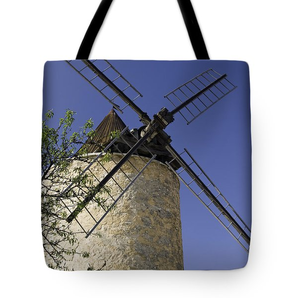 French Moulin Tote Bag by Bob Phillips