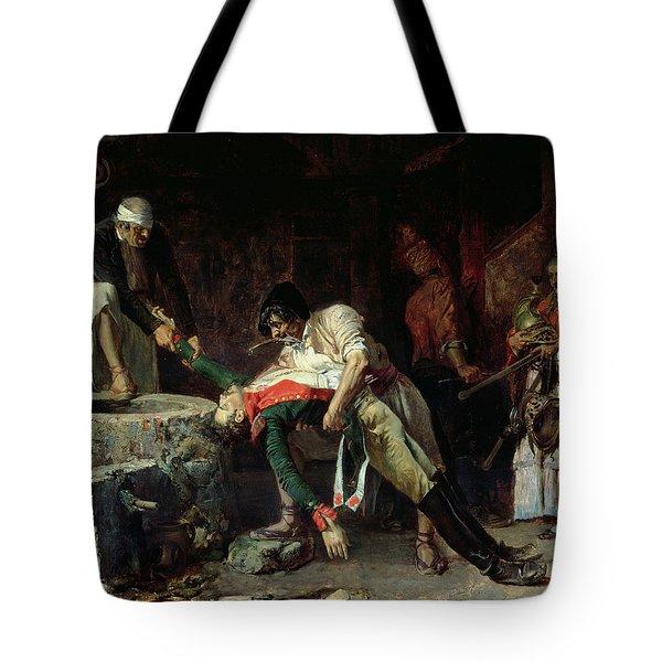 French Occupation Tote Bag by Eduardo Zamacios y Zabala
