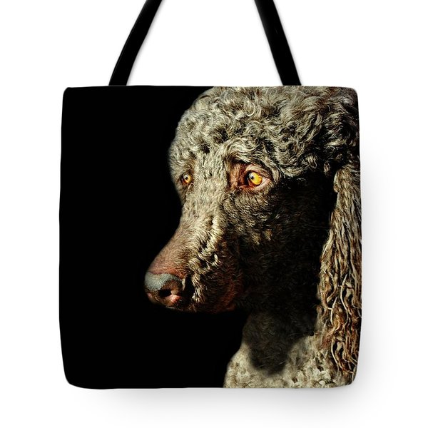 French Poodle Standard Tote Bag by Diana Angstadt