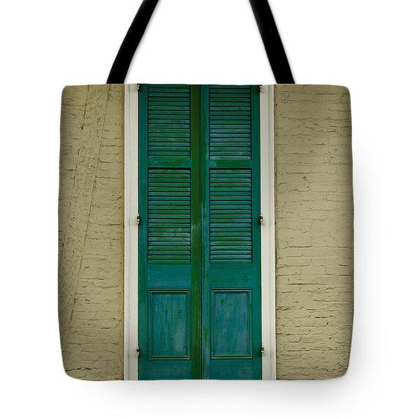 French Quarter Door - 15 Tote Bag by Susie Hoffpauir