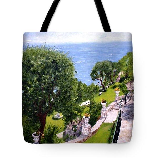 French Riviera Tote Bag by Graciela Castro