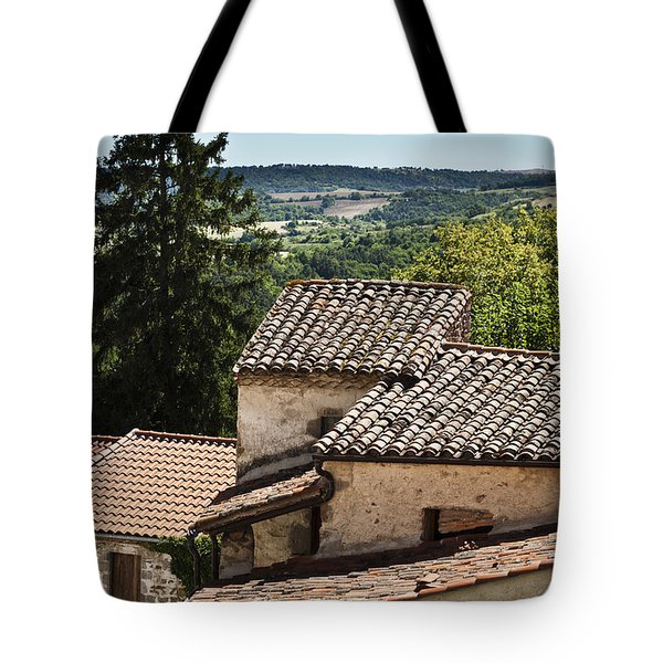 French Roofs Tote Bag by Georgia Fowler