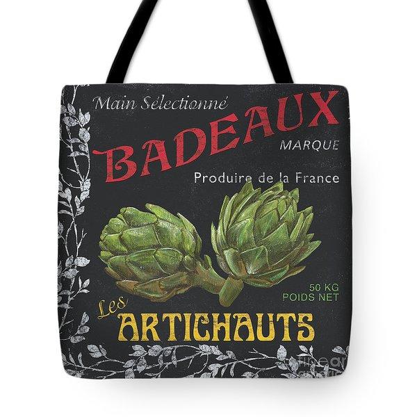 French Veggie Labels 1 Tote Bag by Debbie DeWitt