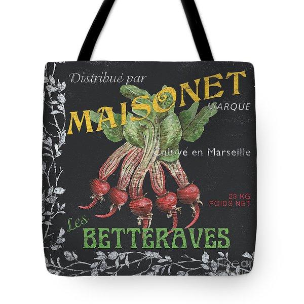 French Veggie Labels 2 Tote Bag by Debbie DeWitt