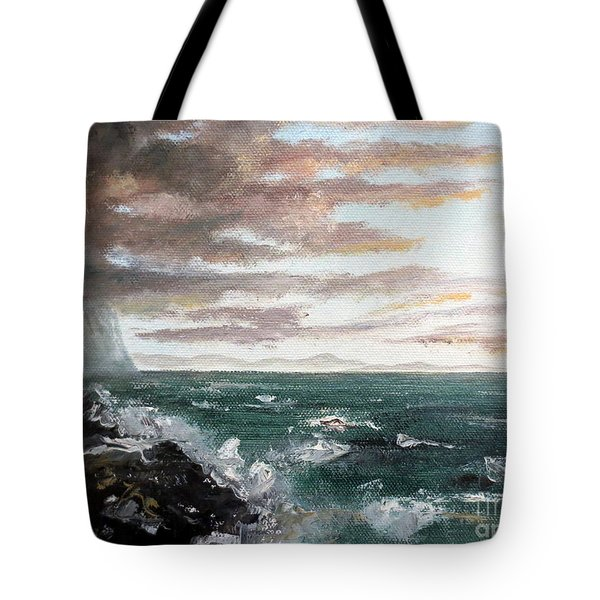 Frenchman's Bay Tote Bag by Lee Piper