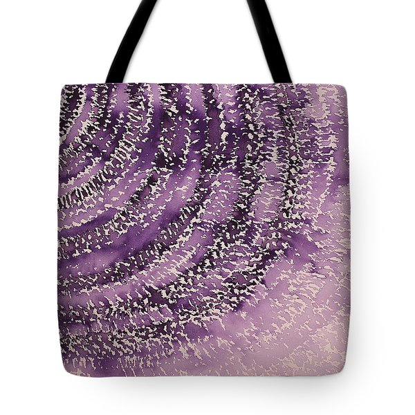 Frequency Increase original painting Sold Tote Bag by Sol Luckman