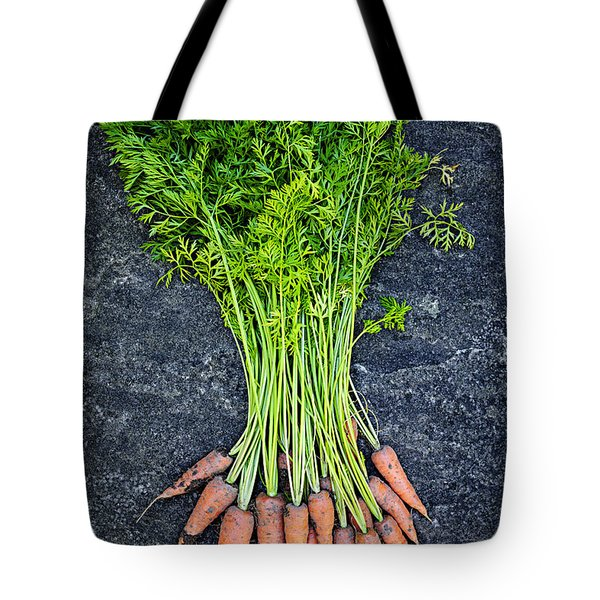 Fresh carrots from garden Tote Bag by Elena Elisseeva