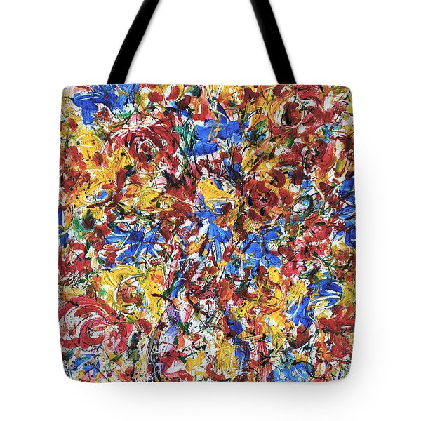 Fresh Flower Bouquet Tote Bag by Natalie Holland