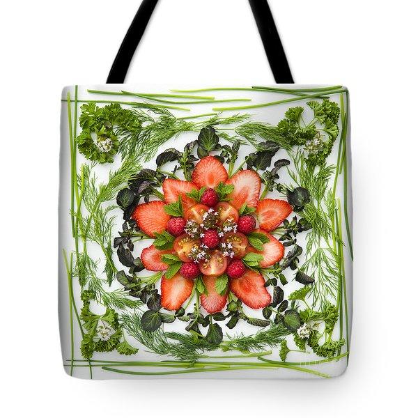 Fresh Fruit Salad Tote Bag by Anne Gilbert