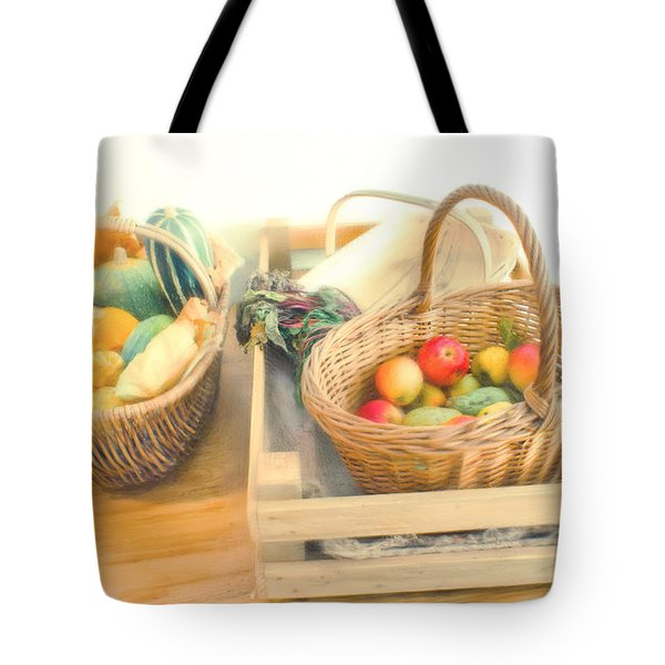 Fresh Harvest Tote Bag by Tom Gowanlock