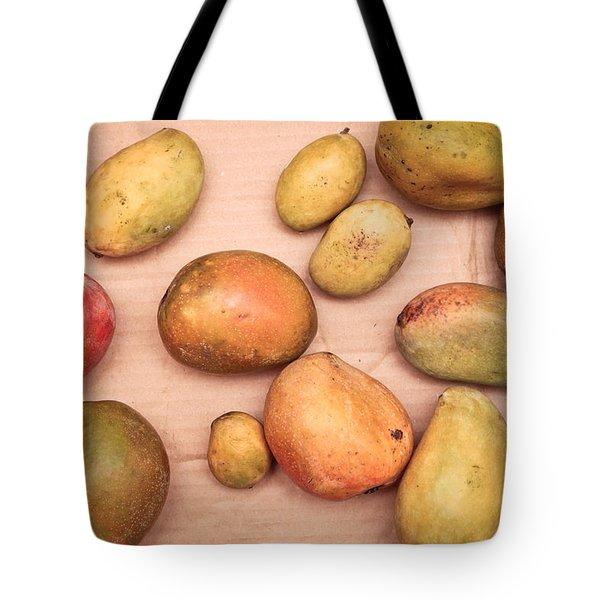 Fresh Mangos Tote Bag by Tom Gowanlock