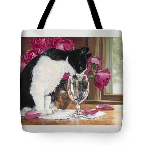 Fresh Water Tote Bag by Lucie Bilodeau