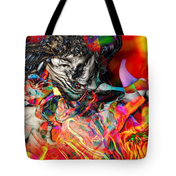Friday Night Saturday Morning Tote Bag by Daniel Hagerman
