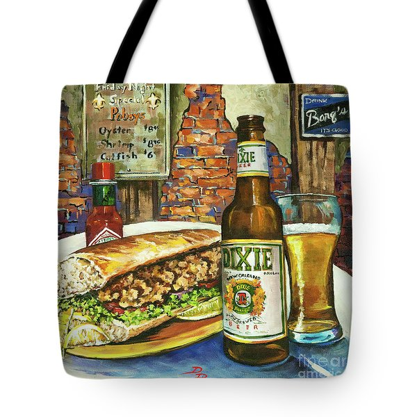 Friday Night Special Tote Bag by Dianne Parks