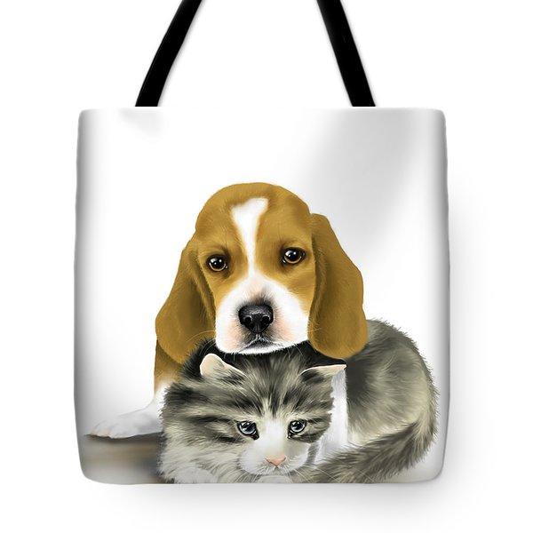 Friends Tote Bag by Veronica Minozzi