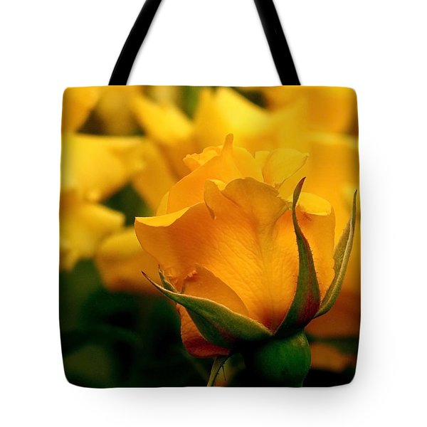 Friendship Roses Tote Bag by Rona Black