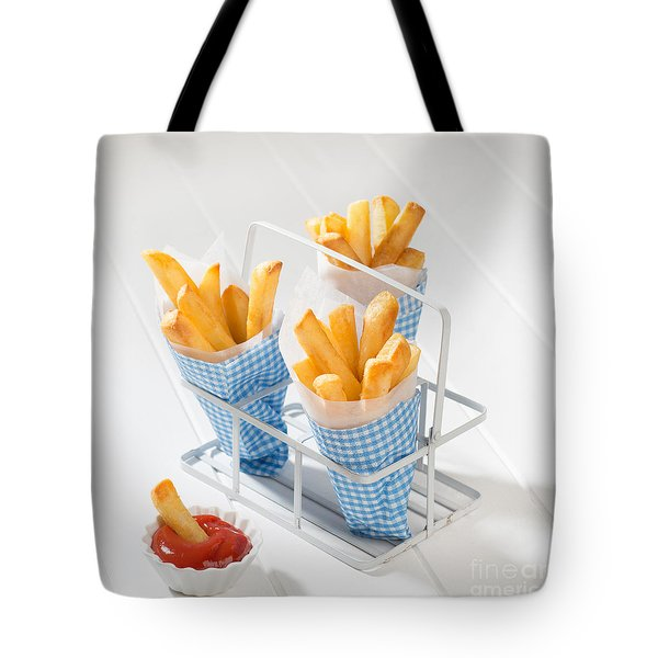 Fries Tote Bag by Amanda Elwell