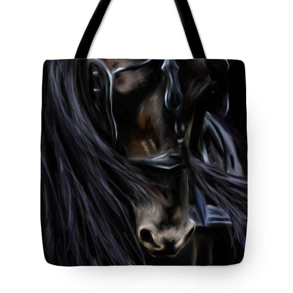 Friesian Spirit Tote Bag by Michelle Wrighton