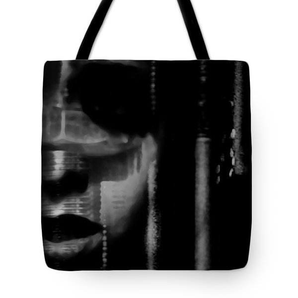 Frightened By Those Who Dont See It Tote Bag by Jessica Shelton