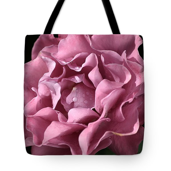 Frilly Rose Tote Bag by Joy Watson