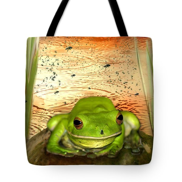 Froggy Heaven Tote Bag by Holly Kempe