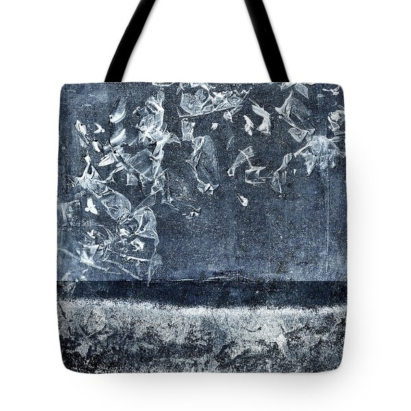 From And To The Sea Tote Bag by Carol Leigh