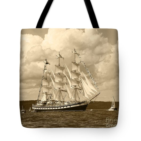 From Russia With Love Tote Bag by Kym Backland